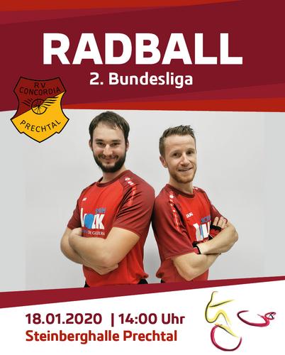 Saisonstart in der 2.Radball-Bundesliga in Prechtal