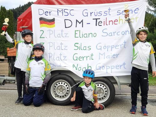 Regenschlacht bei Deutscher Biketrialmeisterschaft 2020