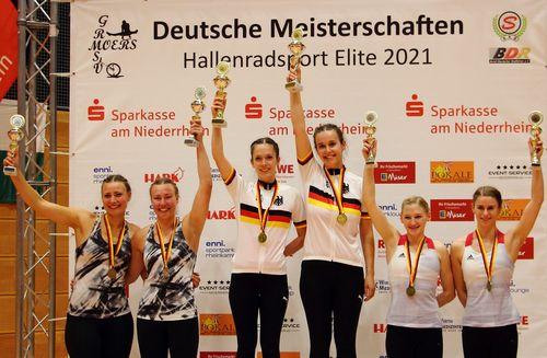 Hallenradsport DM 2021