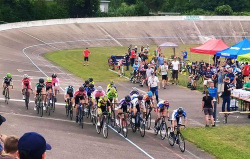 Bahnradrennen in Linkenheim erfolgreich