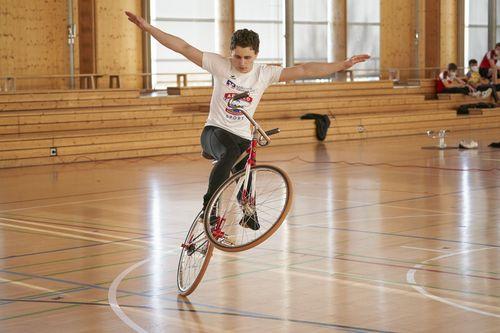 Kunstrad-Junior*innen bestreiten Landeswettkampf