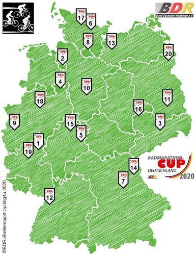 Radmarathon-Cup Deutschland 2020