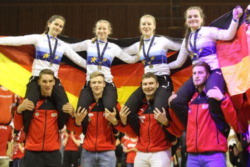 Europameister 4er Kunstrad U19-RMSV Aach