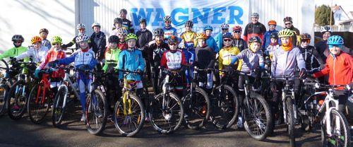 Radrennsport Schüler Lehrgang an der Landessportschule Albstadt