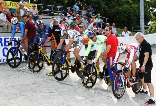 Weltelite des Bahnradsports in Singen