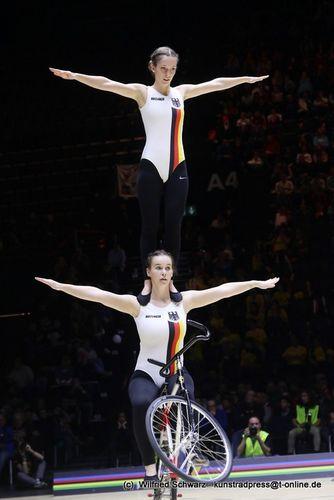 Nattmann/Wurth werden Vize-Weltmeisterinnen im 2er Frauen
