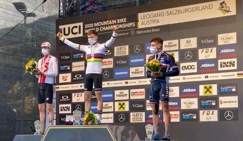 Erfolgreiche Mountainbike Junioren bei der WM in Leogang │ Krayer Mountainbike U19-Weltmeister